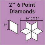 6pt Diamond 2 75pc