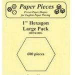 Hexagon 1in 600pcs