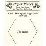 Hexagon 1-1/2in 300pcs