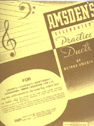 Amsden's Practice Duets Treble Clef