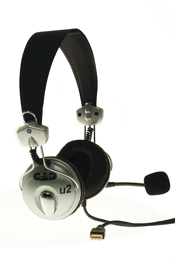 CAD U2 USB Stereo Headphones with Cardioid Condenser Microphone