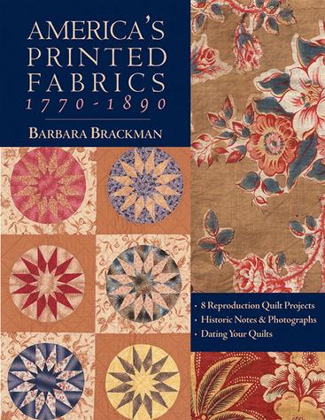 Books - America's Printed Fabrics 1770-1890 Print-on-Demand Edition