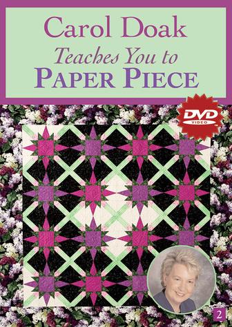 Carol Doak Teaches You to Paper Piece DVD