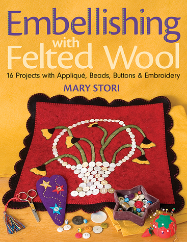 Embellishing with Felted Wool