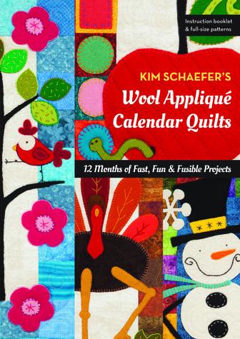 Wool Applique Calendar Quilts