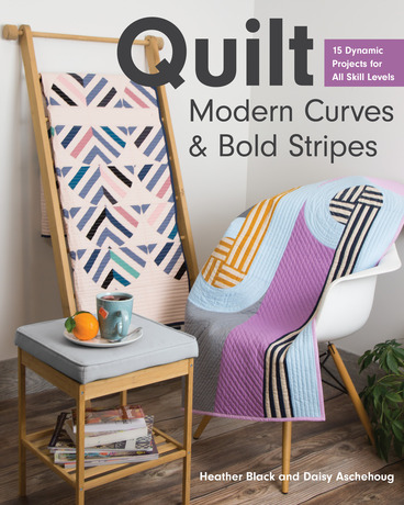 Quilt Modern Curves and Bold Stripes