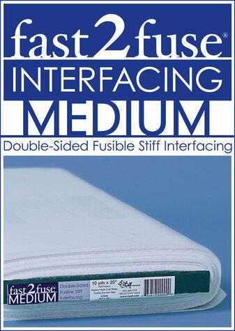 fast2fuse MEDIUM Interfacing Bolt 20 x 10 yards