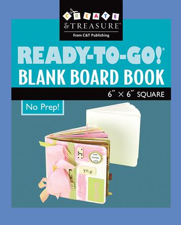 ReadytoGo! Blank Board Book 6 x 6