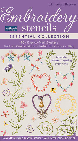 Fast2mark Embroidery Stencils Essential Collection