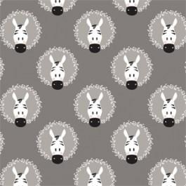 21180907 Zebra Wreaths in Grey