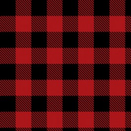Buffalo Plaid in Red (Flannel)