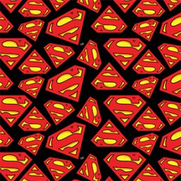 FLANNEL - Superman Logo 2350006B 01