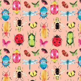 Conservatory 26180304J Critters pink