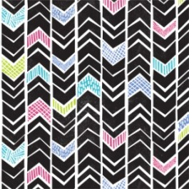 Block Chevron in Multi
