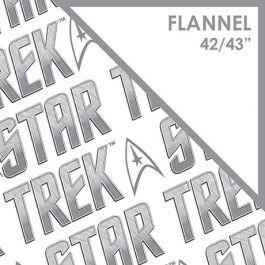 STAR TREK - CLASSIC - Insignia Logo- Licensed flannel