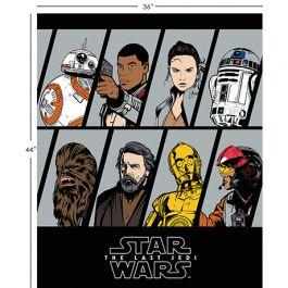 Last Jedi Resistance Character Panel