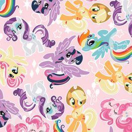 My Little Pony Friends - 100% Cotton - 44/45 95010113