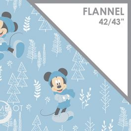 Little Meadow - Forest - 100% Flannel - 42/43 85270406B