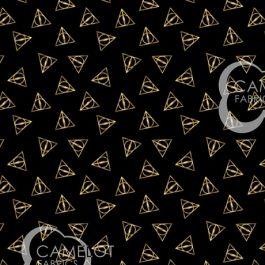 Wizarding World -Hp Deathly Hallow Logo-Metallic