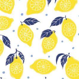 La Dolce Vita 30180602-1 Yellow Lemons