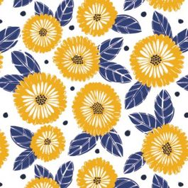 La Dolce Vita 30180608-1 Orange Marigold Flowers