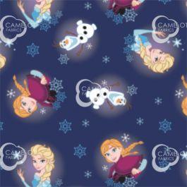 Frozen Snowflakes - 100% Cotton 44/45 85190904