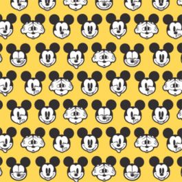 Mickey Expressions - Faces - Yellow