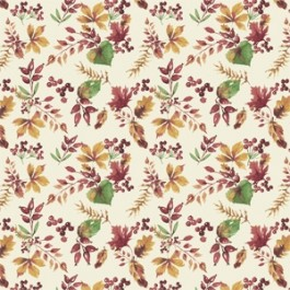 Camelot Fables Leaves and Berries - Beige (Min order of 1m)