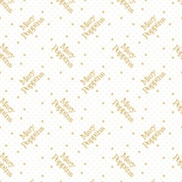 Mary Poppins II 85460104L-1 White Metallic