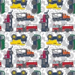 Tonka Trucks in Grey