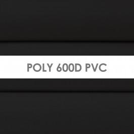 Poly 600D PVC in Black (21G)