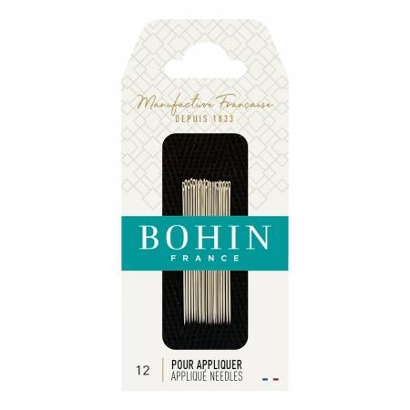 Bohin Applique Needles Size 12