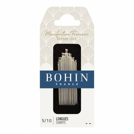 Bohin Sharps Needles Assorted Sizes 5/10