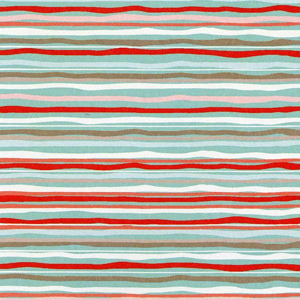 Coral Hoot Stripe
