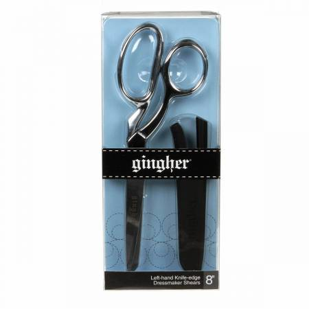 Notions Gingher 8 Inch Knife-Edged Dressmaker Shears - Left Handed