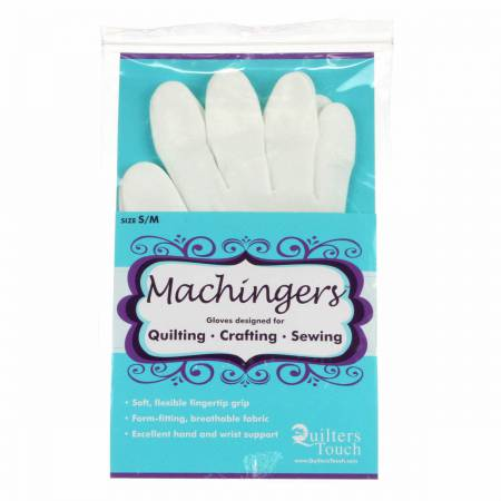 Machingers Quilting Gloves: Small / Medium