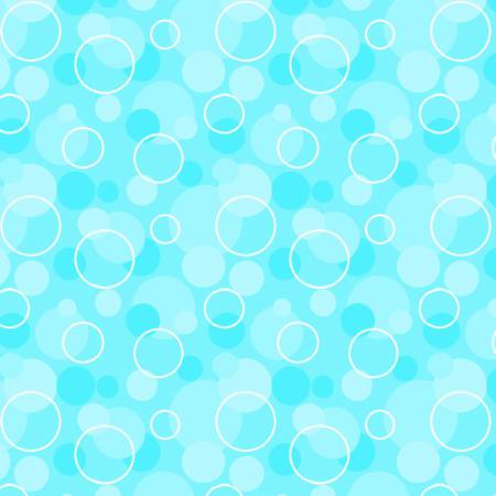 AE Nathan Comfy Flannel Prints Bubbles - Aqua (Minimum order 1m)