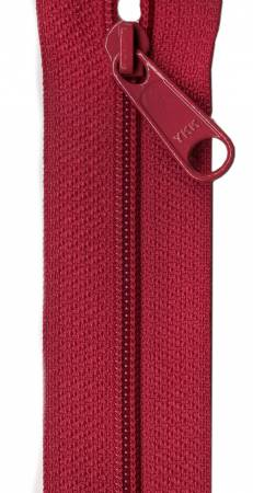 Designer Accents Ziplon Closed Bottom Zipper 9in Garnet