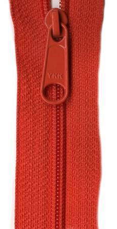Designer Accents Ziplon Closed Bottom Zipper 14in Persimmon