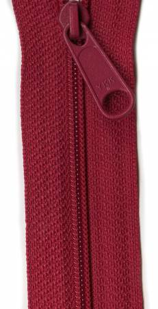 Designer Accents Ziplon Closed Bottom Zipper 14in Garnet