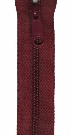 Designer Accents Ziplon Closed Bottom Zipper 14in Burgundy