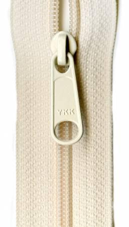 Designer Accents Ziplon Closed Bottom Zipper 14in Cream