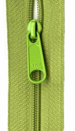 Designer Accents Ziplon Closed Bottom Zipper 14in Pear Green