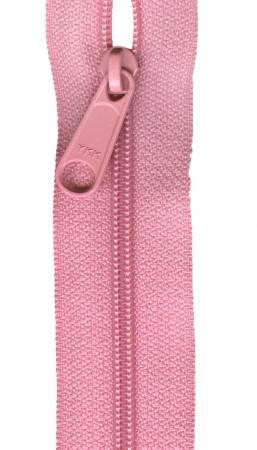 Designer Accents Ziplon Closed Bottom Zipper 22in Pink