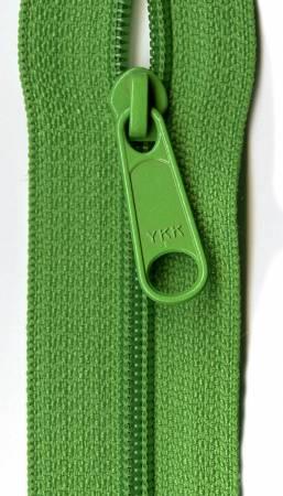 22 Lime Green Zipper