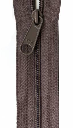 Designer Accents Ziplon Closed Bottom Zipper 22in Iron