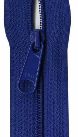 Designer Accents Ziplon Closed Bottom Zipper 22in Royal Blue