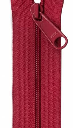 Designer Accents Ziplon Closed Bottom Zipper 22in Garnet