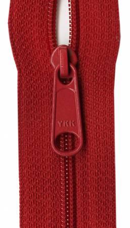 22 Red Zipper