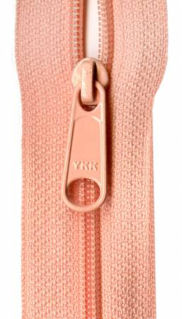 Designer Accents Ziplon Closed Bottom Zipper 22in Peach